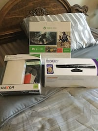 Xbox 360 brand new with 12 new games Vaughan, L4L 6P9
