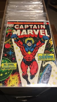 Captain Marvel 29 - early Thanos! Bolton, L7E 1P6