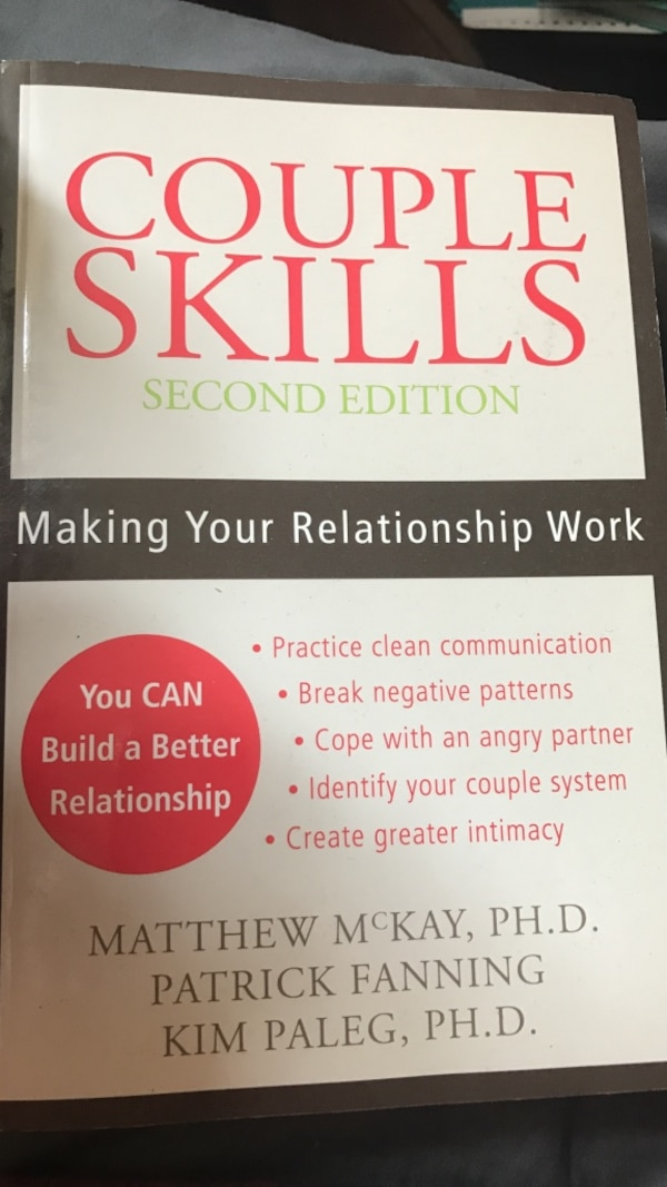 Used Couple Skills Second Edition By Kim Paleg For Sale In Islip Letgo