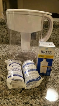 Brita pitcher plus 3 filters Ellicott City, 21042