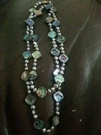 Abalone shell necklace with clasp North Babylon