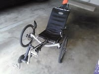 black and gray folding wheelchair Tustin, 92780