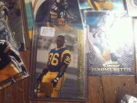 Jerome the bus Bettis rookie card Kansas City, 64131