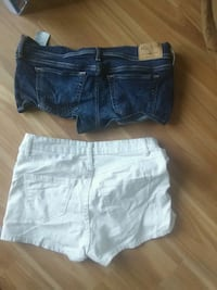 two blue and white short shorts Ames, 50014