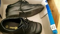 pair of black leather shoes London, N6M