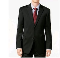 """Tommy Hilfiger"" Men's Modern Fit Black Sport Striped Suit New* Toronto, M1C 0B1"