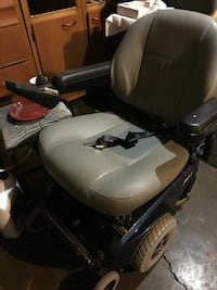 Gray and black motorized wheelchair battery included Indianapolis, 46219