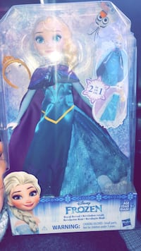Frozen doll, 2in1 outfits 563 km