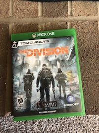 Xbox One Tom Clancy's The Division game case Warrenton, 20187