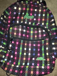 Large checkered roots backpack  Dartmouth, B2V 2N5