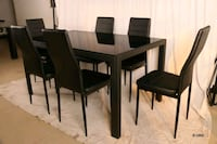 Nice glass dining table