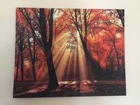 black and red tree painting Port Saint Lucie, 34952