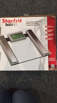 Glass body fat scale Edmonton, T5T 4A4