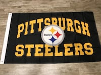 blue and white Pittsburgh Steelers banner Salida, 95368