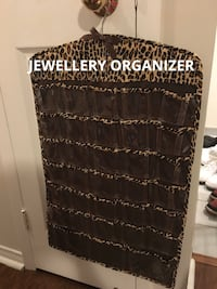Jewellery Hanging Organizer- Double Sided Toronto, M1S 2Y8