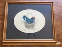 Large Vintage CHICKEN Picture Ocala, 34471