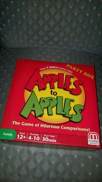 Apples to apples party box  Henderson, 89014