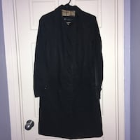 Kenneth Cole Reaction women's black trench coat- size small Arlington, 22202