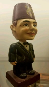 Vintage Shriners Masonic Nodder from 60's  Pico Rivera