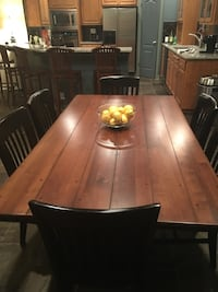 6' dining table and 6 chairs Austin, 78747