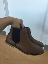 Topman Chelsea Boot Brown/Navy