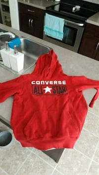 Youth converse hoodie size large 12-13 years  Edmonton, T5C 2K8
