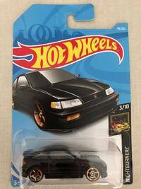 Hot wheels Honda CRX black Markham