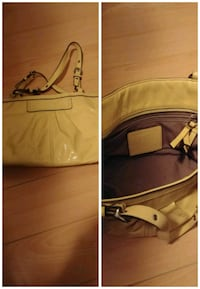 beige patent-leather tote bag collage Surrey, V3W 1N8