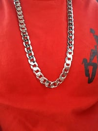 silver-colored chain necklace Waipahu, 96797