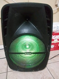 "Irocker xs-3000 bluetooth speaker 15"" ""not free"""