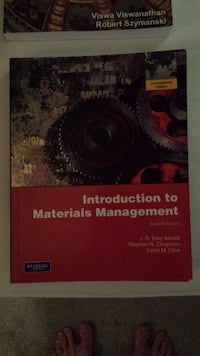Introduction to materials management 7th ed Vancouver