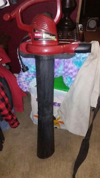 red and black Toyo blower vac