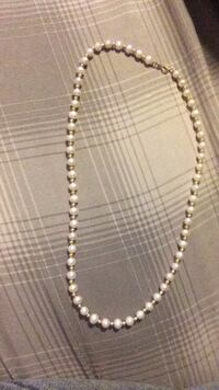 14k gold pearl necklace