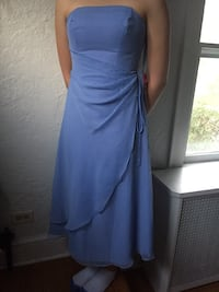 Light Blue Strapless Prom Dress Stamford, 06907