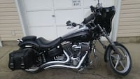 black and chrome cruiser motorcycle Edmonton, T5P 2R5