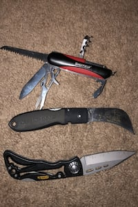 New Sheffield Swiss Army knife and 2 others