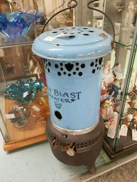 Antique wood or coal stove NICE DECALS!