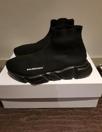 Balenciagas Speed Trainer 'Black' Burlington