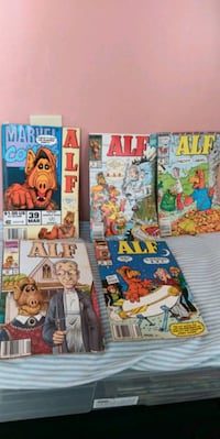5 ALF comic books $30