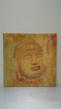 BUDDHIST Image Painted on CANVAS (firm price) Arlington, 22204
