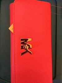 red and black leather wallet Fairfax, 22030