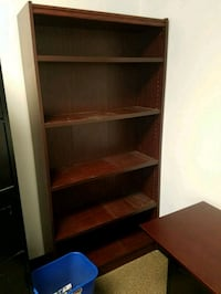 MAHOGANY WOODEN BOOKCASE  Forest Hill, 21050
