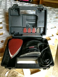 Craftsman Sander with case and assorted pads Zanesville, 43701