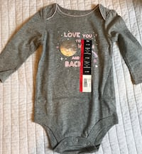 BNWT Baby girl long sleeve onesie  Toronto
