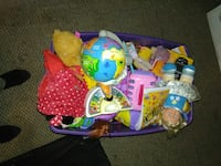 toddler's assorted plastic toy lot Pittsburgh, 15237
