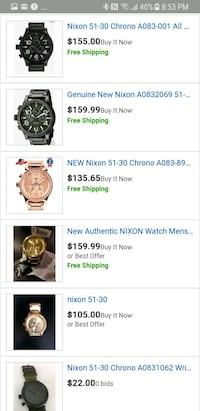 round silver chronograph watch with link bracelet screenshot Chilliwack, V2P 1H3