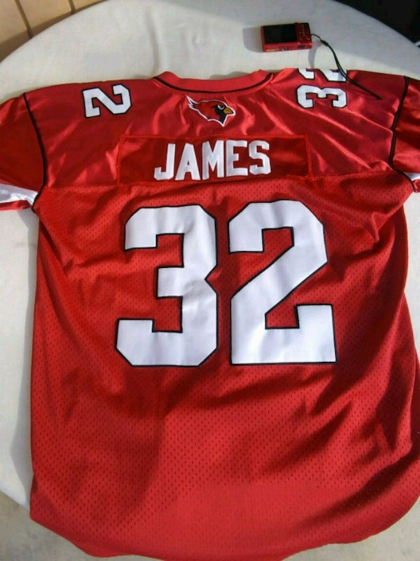 Used Arizona Cardinals   32 James football jersey for sale in Phoenix -  letgo 98e91a486