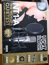 Recording system rode microphone + scarlett Dollard-des-Ormeaux, H9G 2L7