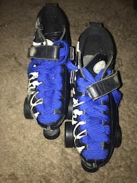 Size 10 Riedell Roller Skates