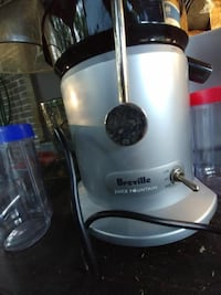 BREVILLE Juice Fountain Plus BRE JE98XL (comes with two cups)